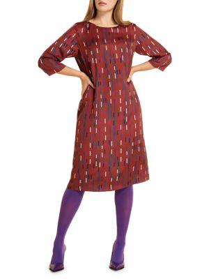 Danzante Twill Shift Dress