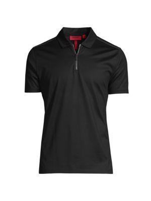 Dilvio Half-Zip Polo Shirt