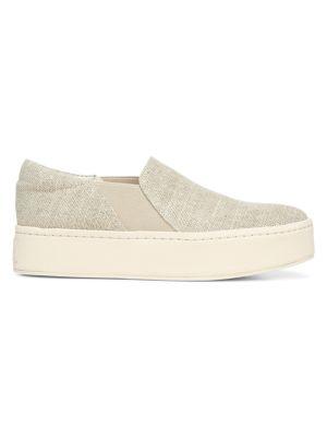 Warren Slip-On Platform Jute Sneakers