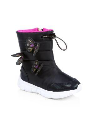 Baby's, Little Girl's & Girl's Riva Butterfly Snowboots