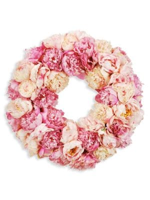 Everyday Floral Imitation Peony Wreath