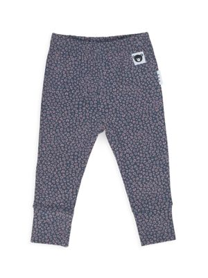 Baby's & Little Girl's Ditzy Animal Print Leggings