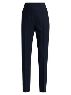 Villar Stretch-Wool Pants