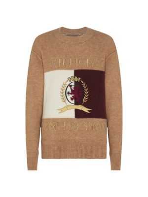 HCM Crest Embroidered Sweater