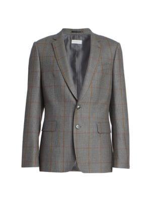 Blaine Cotton & Wool Suit Jacket