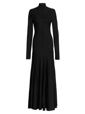 Knit Turtleneck Gown