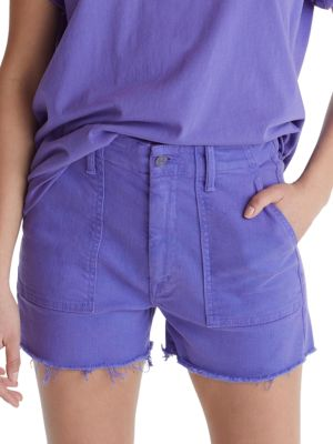 Shaker Cropped Jean Shorts