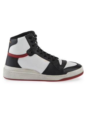 SL24 High Top Leather Sneakers