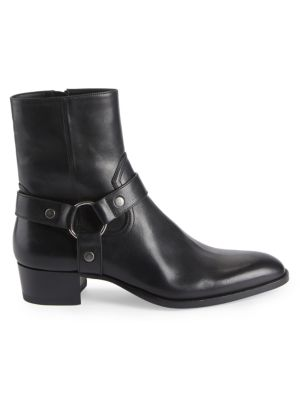 Wyatt Harness Leather Ankle Boots