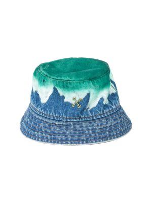 Degrade Denim Bucket Hat