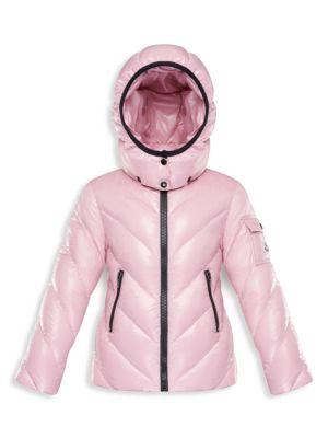 Little Girl's & Girl's Brouel Down Puffer Jacket