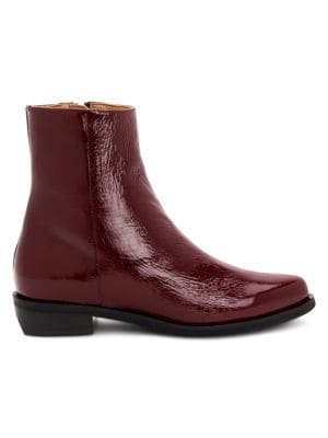 Gwenyth Leather Ankle Boots