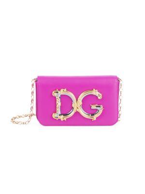 D & G Girls Leather Crossbody Bag