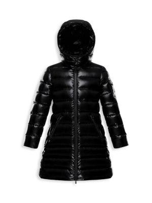Little Girl's & Girl's Moka Long Down Puffer Coat