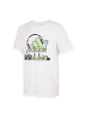 Boy's Sports Jamz Graphic T-Shirt