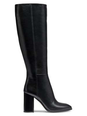 Brigitte Tall Leather Boots
