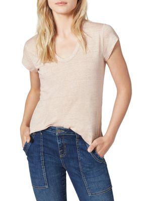 Evalina Linen T-Shirt