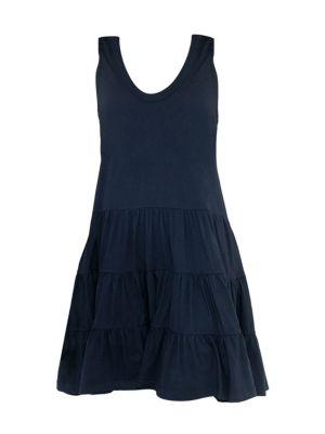 Tiered Drop-Waist Dress
