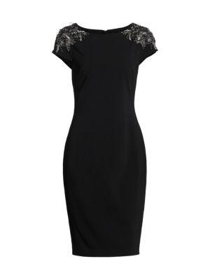 Downton Abbey Beaded Sheath Dress