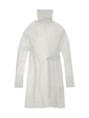 Strap Detail Sweater Dress