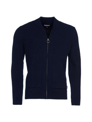 Tartan Gillespie Wool Zip-Through Sweater