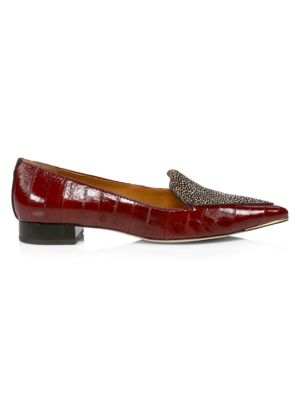 Lila Leather & Calf Hair Loafers