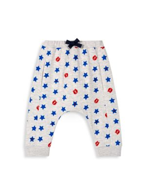 Baby Boy's All Over Star Joggers