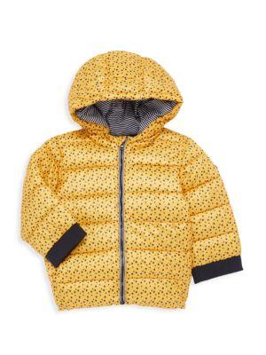 Baby Boy's Star-Print Puffer Coat