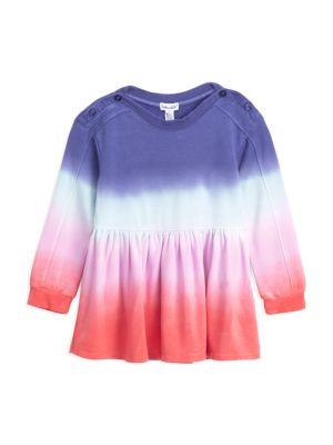 Little Girl's Dip-Dyed Dress