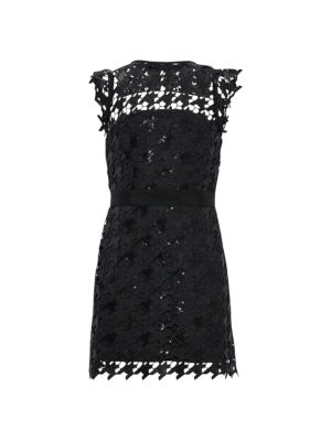 Girl's Leila Herringbone Sequined Dress