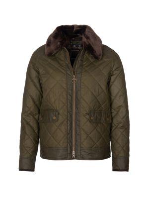 Glencoe Quilted Wax Jacket