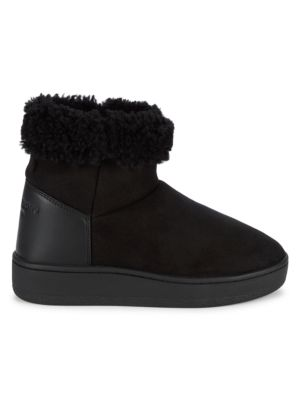 Oslo Shearling-Lined Suede Boots