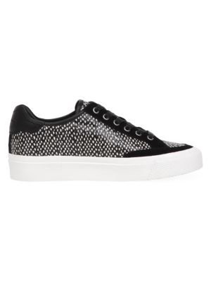 RB Army Low-Top Print Leather Sneakers