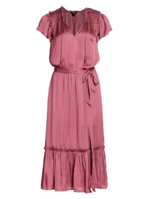 Laramie Flounce Midi Dress