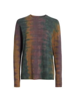 Rainbow Tie-Dye Sweater
