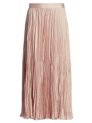Oates Pleated Maxi Skirt
