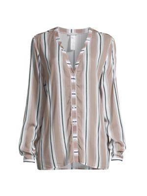 Sleep & Lounge Striped Pajama Top