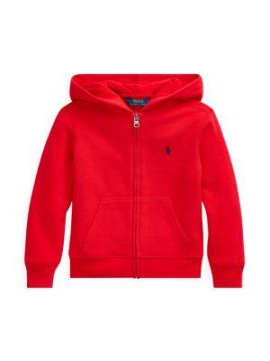 Little Boy's & Boy's Fleece Zip-Front Hoodie