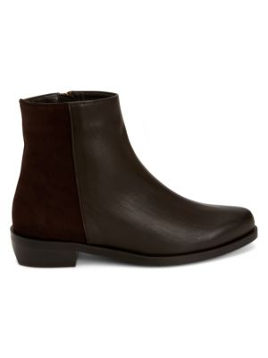 Gabriele Leather & Suede Ankle Boots