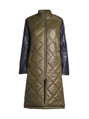 Brooklyn Quilted Longline Puffer Jacket