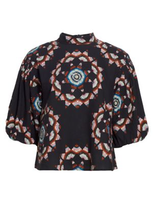 Lindstrom Quilted Long-Sleeve Top