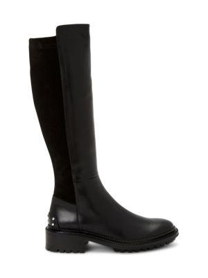 Omara Knee-High Leather Boots