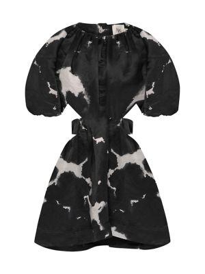 Oxidised Mini Dress