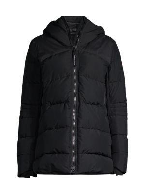 HyBridge Hooded Down Coat