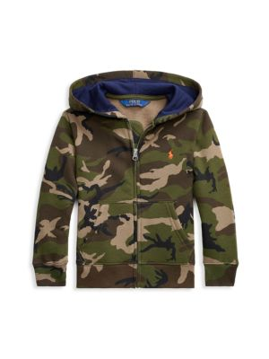 Little Boy's Camouflage Hoodie