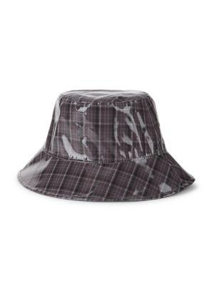 Plaid Bucket Hat