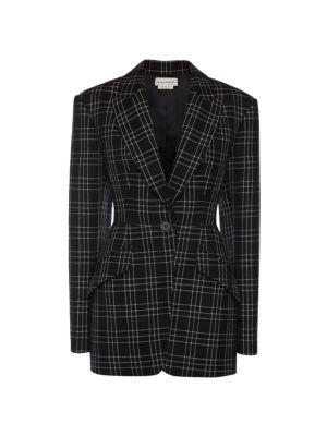 Virgin Wool Long Length Jacket