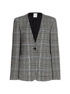 Prince of Wales Knit Jacket