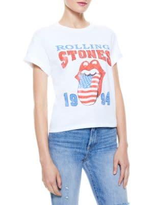 Shira Rolling Stones Roll-Cuff T-Shirt