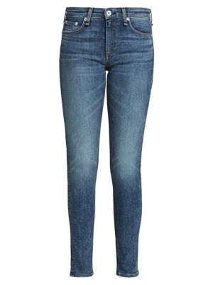 Cate Mid-Rise Ankle Skinny Jeans